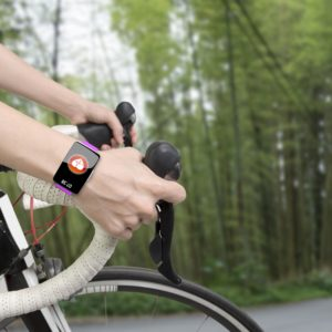 Bicycle with healthy check